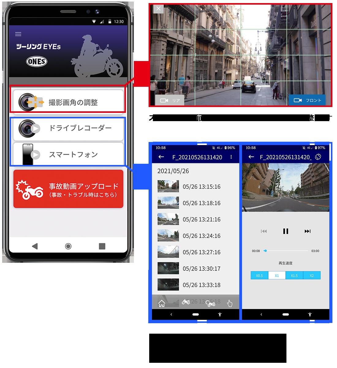 無線LAN&無料の専用スマートフォンアプリの使い方